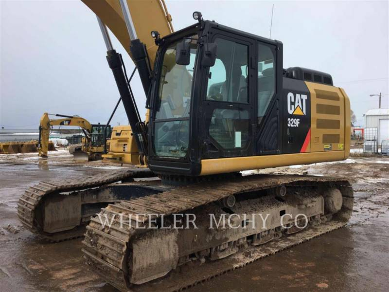 CATERPILLAR TRACK EXCAVATORS 329F L CF equipment  photo 5