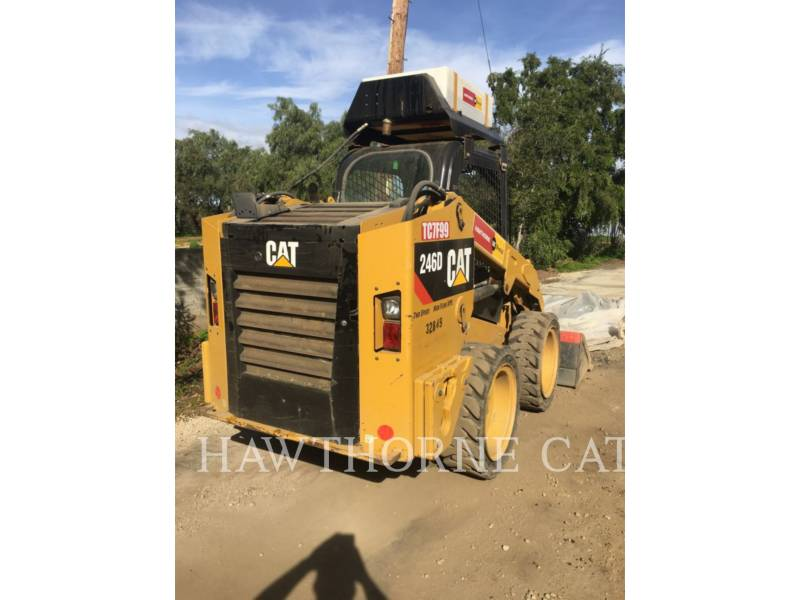 CATERPILLAR KOMPAKTLADER 246D  HF equipment  photo 3