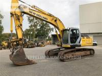 Equipment photo NEW HOLLAND E245 ESCAVATORI CINGOLATI 1