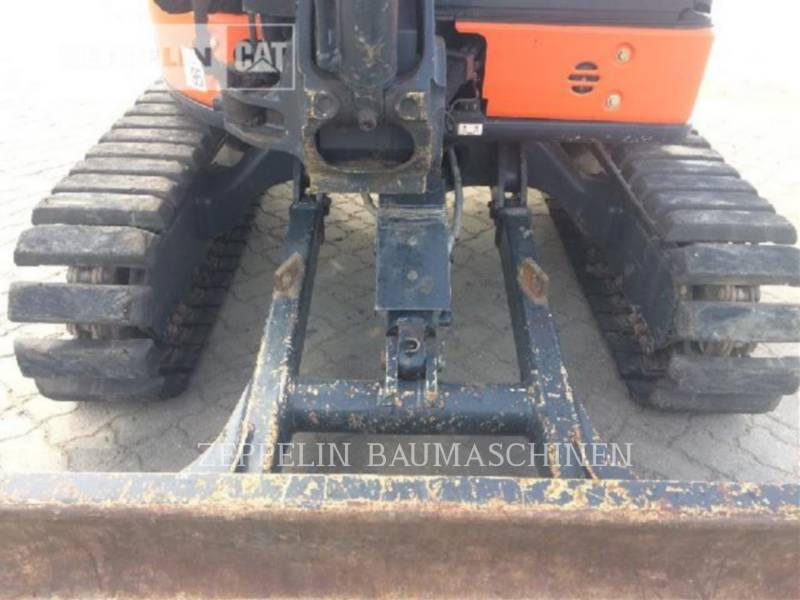 HITACHI TRACK EXCAVATORS ZX38U equipment  photo 7