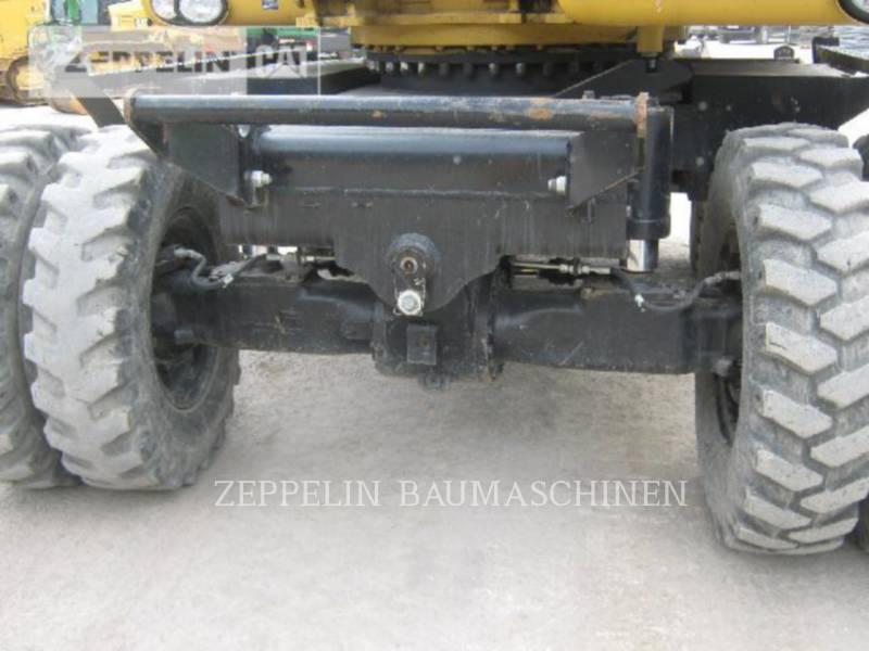 CATERPILLAR ホイール油圧ショベル M322D equipment  photo 19