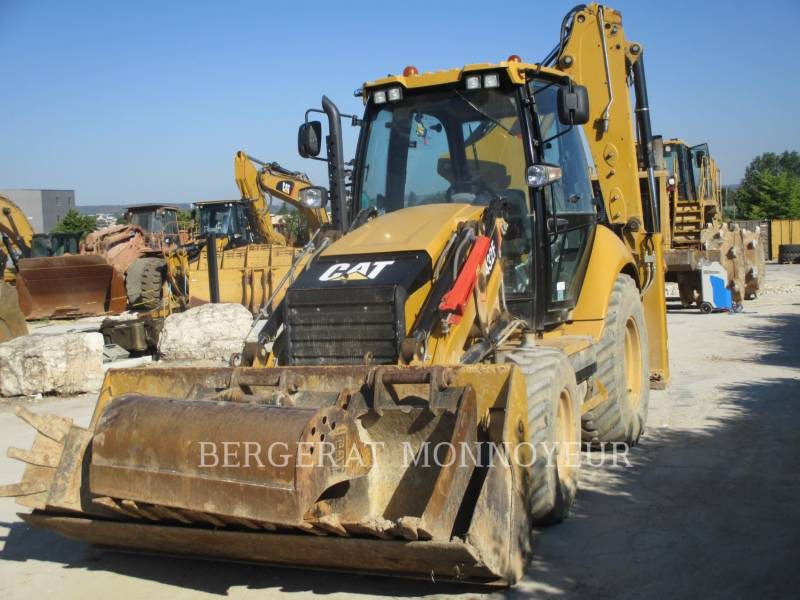 CATERPILLAR BAGGERLADER 432F equipment  photo 4