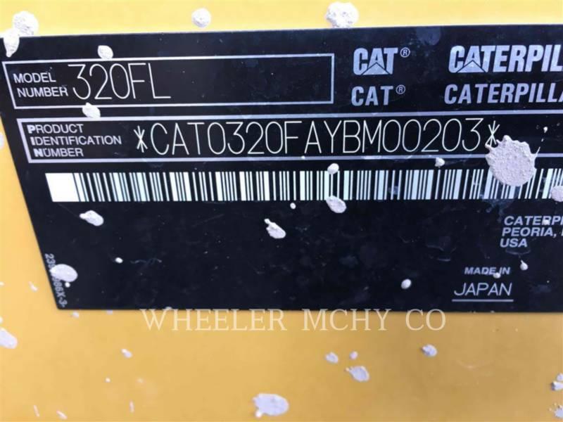 CATERPILLAR TRACK EXCAVATORS 320F L equipment  photo 10