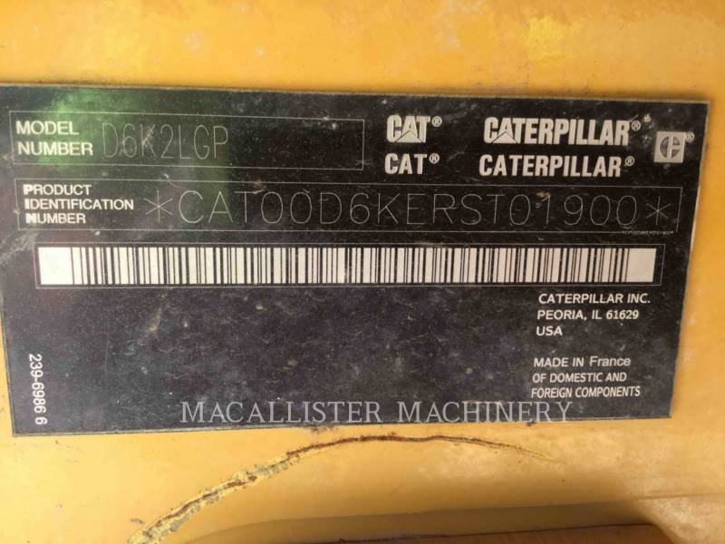 CATERPILLAR KETTENDOZER D6K2LGP equipment  photo 20