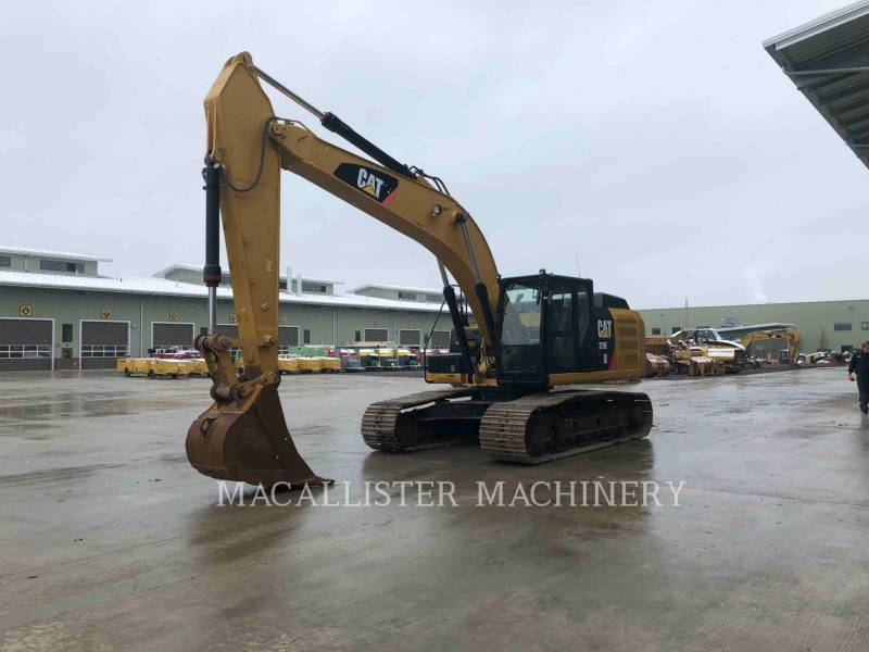CATERPILLAR KETTEN-HYDRAULIKBAGGER 329E equipment  photo 8