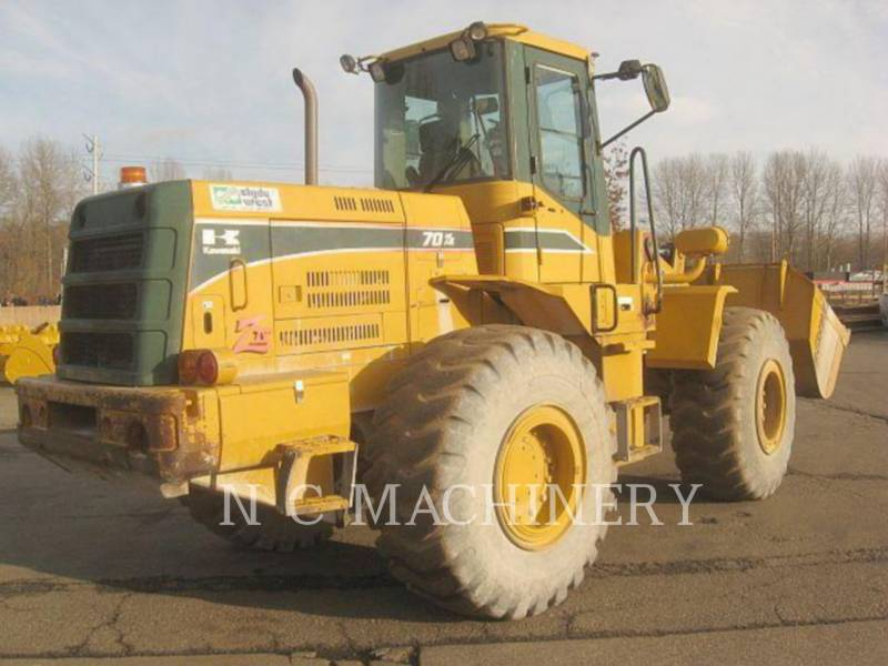 KAWASAKI WHEEL LOADERS/INTEGRATED TOOLCARRIERS 70ZIV-2 equipment  photo 3