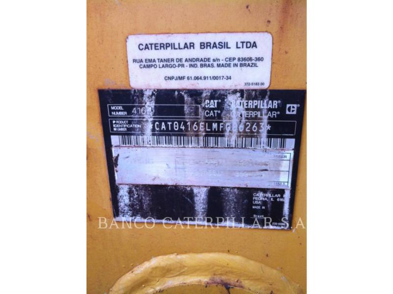 CATERPILLAR CHARGEUSES-PELLETEUSES 416EST equipment  photo 3