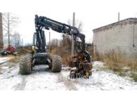 PONSSE LEŚNICTWO - HARVESTER ERGO 8W equipment  photo 8