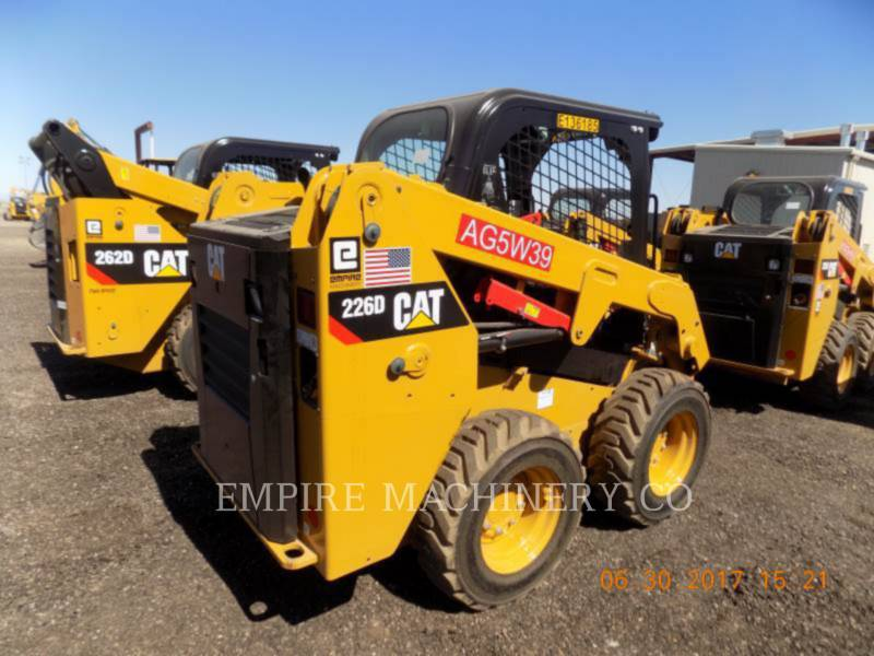 CATERPILLAR SKID STEER LOADERS 226D equipment  photo 2