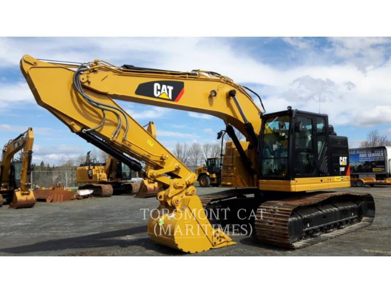 CATERPILLAR TRACK EXCAVATORS 335 F L CR equipment  photo 3