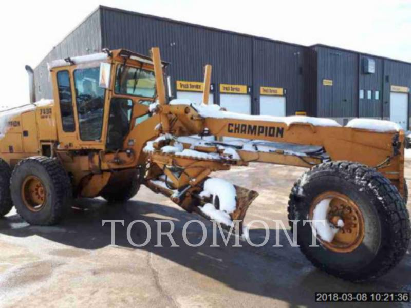 CHAMPION MOTORGRADER 740A equipment  photo 1