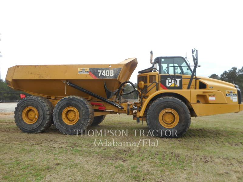 CATERPILLAR ARTICULATED TRUCKS 740B TGATE equipment  photo 4