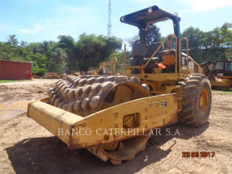 CATERPILLAR SOPORTE DE TAMBOR ÚNICO VIBRATORIO CP56 equipment  photo 1