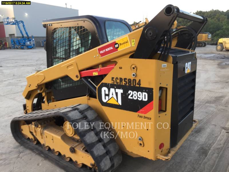 Caterpillar MINIÎNCĂRCĂTOARE RIGIDE MULTIFUNCŢIONALE 289DSTD2CA equipment  photo 2