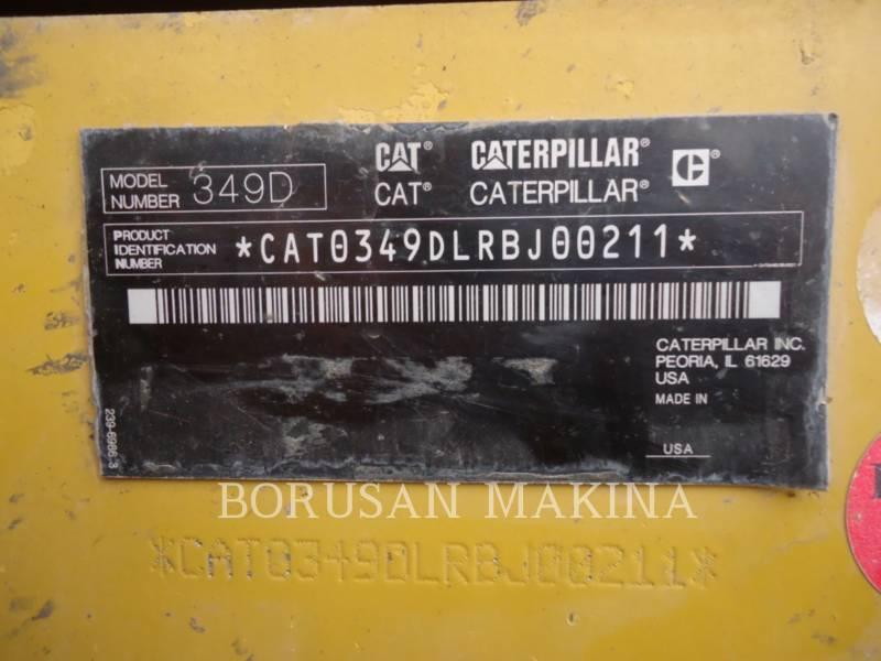 CATERPILLAR PELLE MINIERE EN BUTTE 349D equipment  photo 3