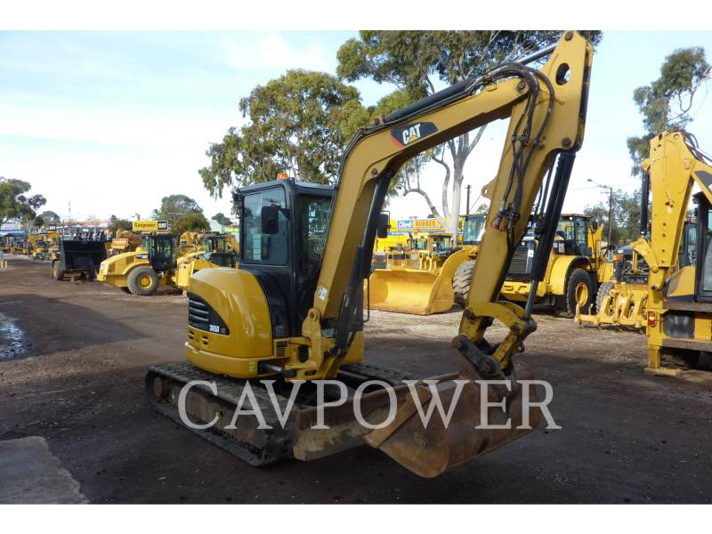 CATERPILLAR トラック油圧ショベル 305DCR equipment  photo 3