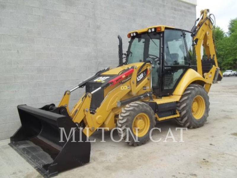 CATERPILLAR RETROESCAVADEIRAS 430F IT equipment  photo 1
