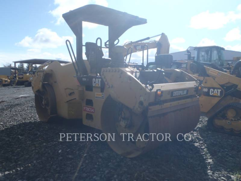 CATERPILLAR VIBRATORY DOUBLE DRUM ASPHALT CB54 XW equipment  photo 4