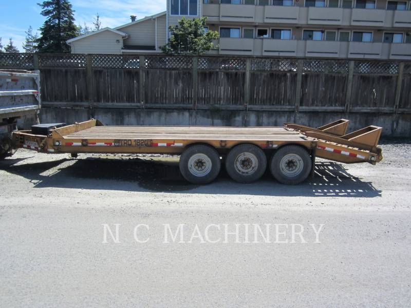 MISCELLANEOUS MFGRS TRAILERS TR01820 equipment  photo 1