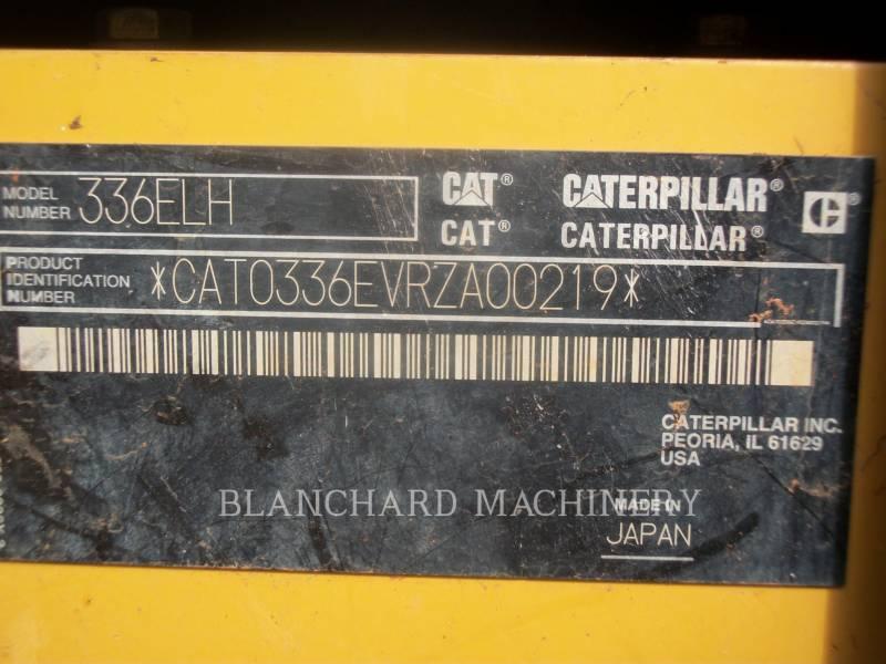 CATERPILLAR TRACK EXCAVATORS 336E equipment  photo 17