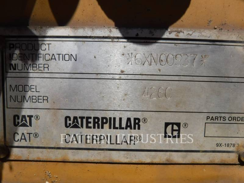 CATERPILLAR RETROEXCAVADORAS CARGADORAS 426C EX4 equipment  photo 8
