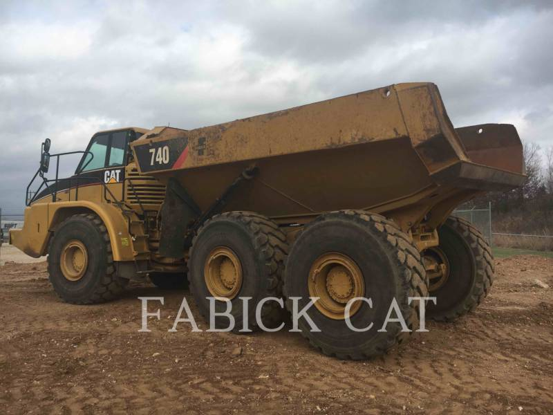 CATERPILLAR ARTICULATED TRUCKS 740 equipment  photo 22