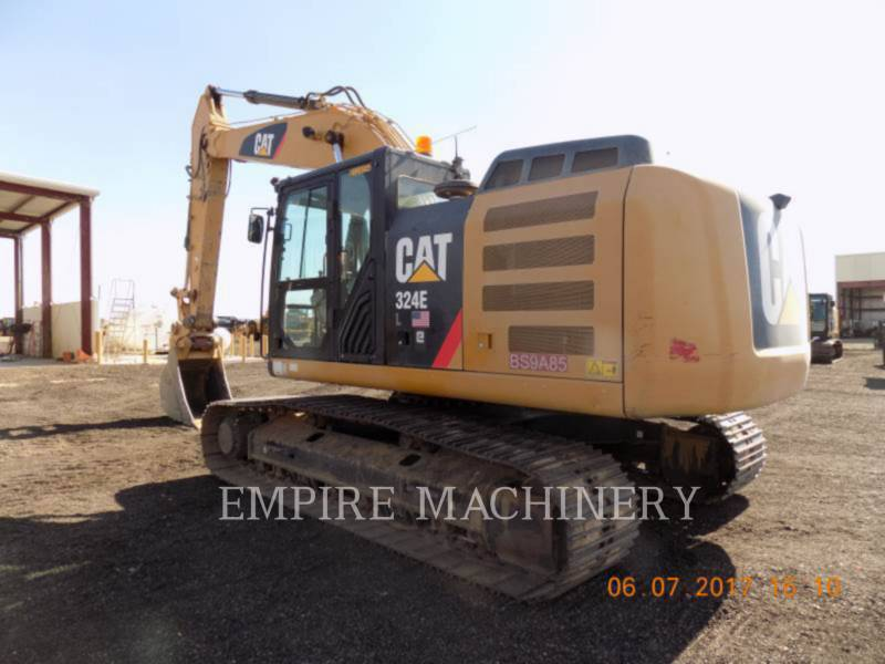 CATERPILLAR KETTEN-HYDRAULIKBAGGER 324EL equipment  photo 3