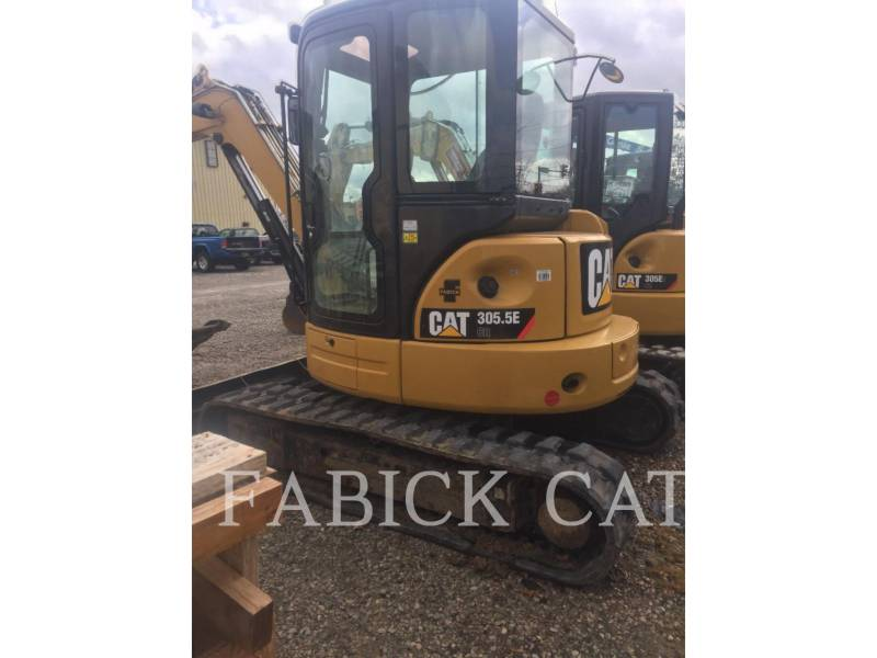 CATERPILLAR ESCAVATORI CINGOLATI 305.5ECR equipment  photo 2
