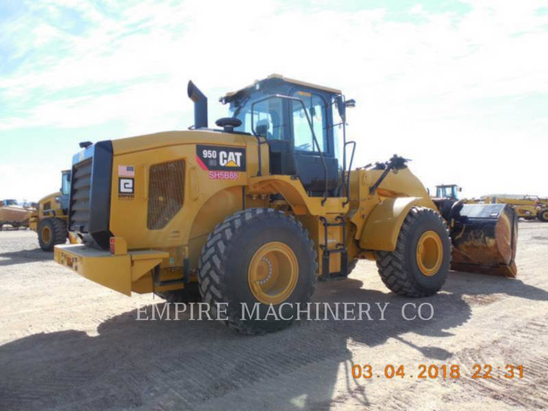 CATERPILLAR WHEEL LOADERS/INTEGRATED TOOLCARRIERS 950GC FC equipment  photo 2