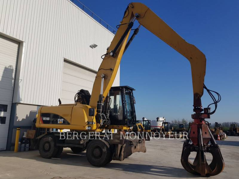 CATERPILLAR MOBILBAGGER M318D MH equipment  photo 2