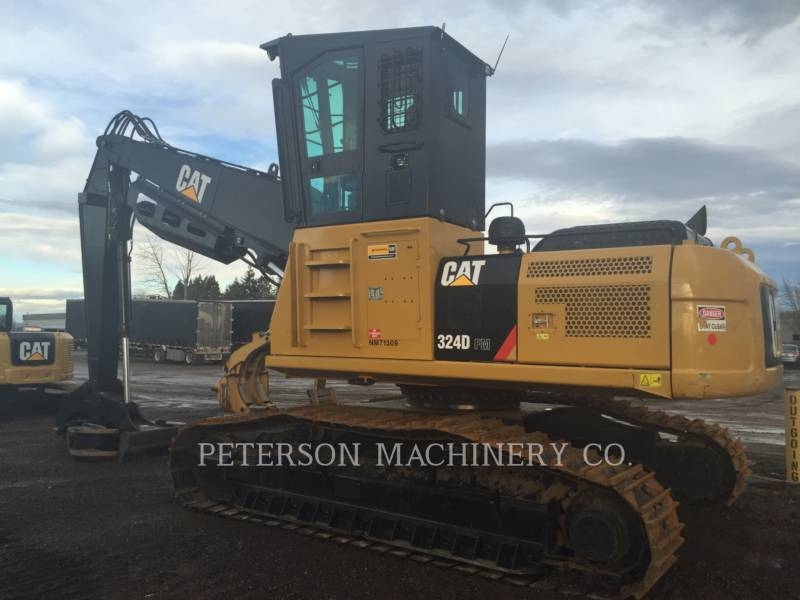 CATERPILLAR CARGADORES DE TRONCOS 324D-FM LL equipment  photo 4