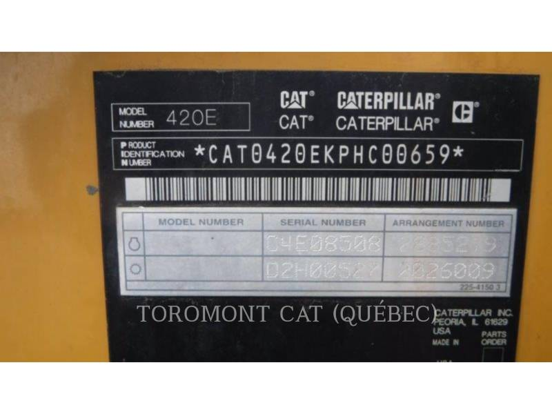 CATERPILLAR CHARGEUSES-PELLETEUSES 420EIT equipment  photo 18