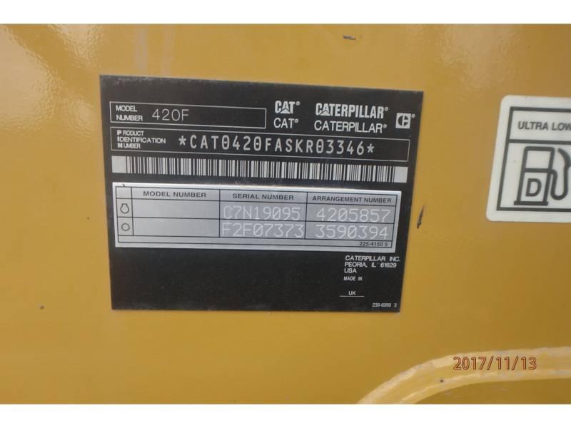 CATERPILLAR BACKHOE LOADERS 420FST equipment  photo 16