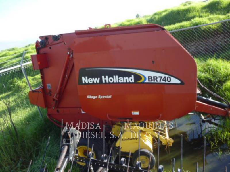 NEW HOLLAND AUTRES MATERIELS AGRICOLES EMPACADORA equipment  photo 1