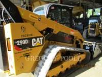 CATERPILLAR CARGADORES MULTITERRENO 299D2 equipment  photo 3