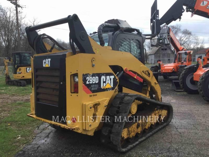 CATERPILLAR CARGADORES MULTITERRENO 299DXHP equipment  photo 4