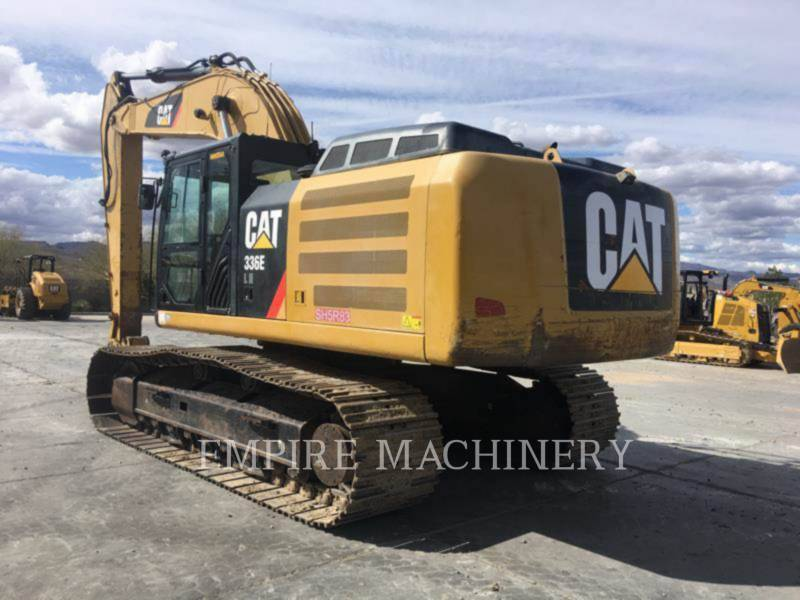 CATERPILLAR ESCAVATORI CINGOLATI 336ELH equipment  photo 2