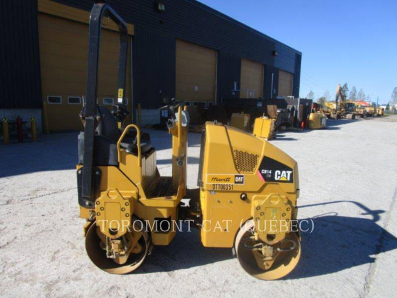 CATERPILLAR TANDEMOWY WALEC WIBRACYJNY DO ASFALTU (STAL-STAL) CB14 equipment  photo 4