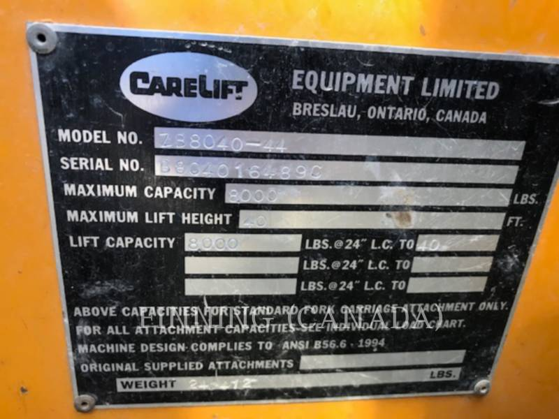 CARELIFT EQUIP. LIMITED MOVIMENTATORI TELESCOPICI ZB8040-44 equipment  photo 14