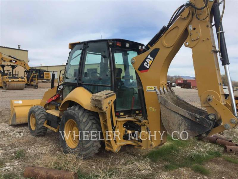 CATERPILLAR BAGGERLADER 420F E equipment  photo 4