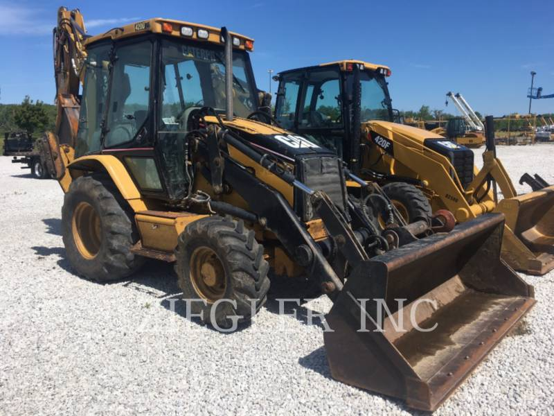 CATERPILLAR BACKHOE LOADERS 420DIT equipment  photo 1