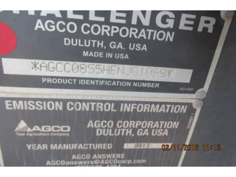 AGCO-CHALLENGER TRATTORI AGRICOLI MT855C equipment  photo 23