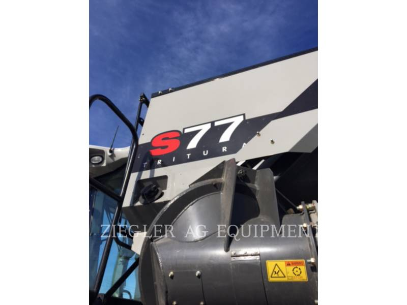 GLEANER COMBINES S77 equipment  photo 9