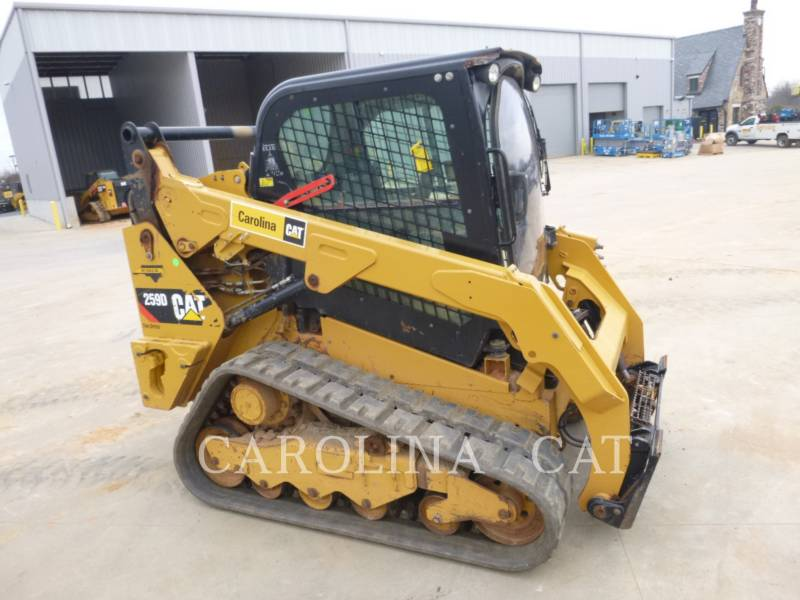 CATERPILLAR CHARGEURS SUR CHAINES 259D CB equipment  photo 2