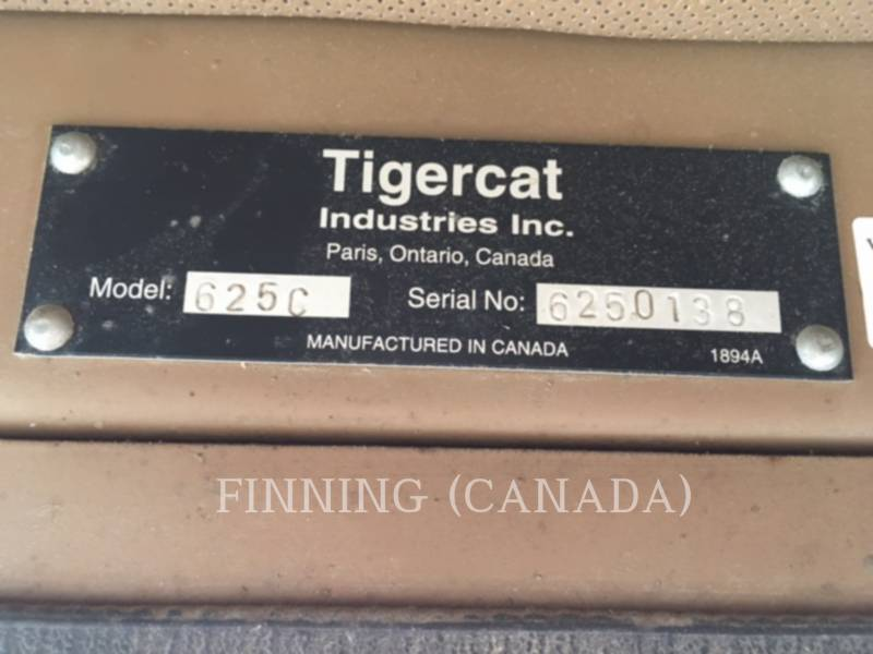 TIGERCAT FORESTAL - ARRASTRADOR DE TRONCOS 625C equipment  photo 6
