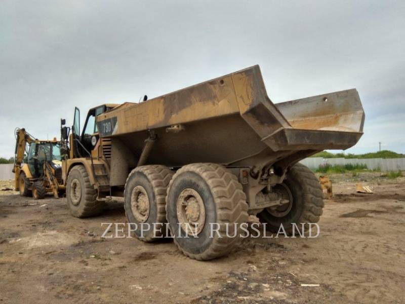 CATERPILLAR KNIKGESTUURDE TRUCKS 730 equipment  photo 6