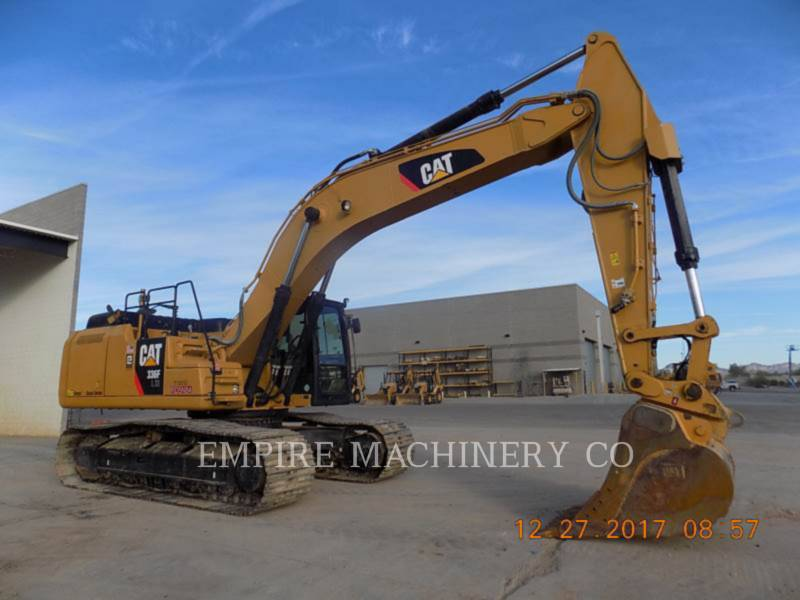 CATERPILLAR TRACK EXCAVATORS 336FL XE P equipment  photo 1