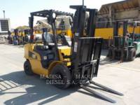 Equipment photo MITSUBISHI FORKLIFTS 2P5000GLP  CARRELLI ELEVATORI A FORCHE 1