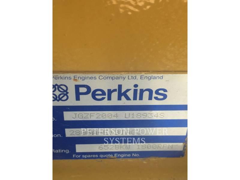 PERKINS-SABRE Grupos electrógenos fijos 2806 equipment  photo 4