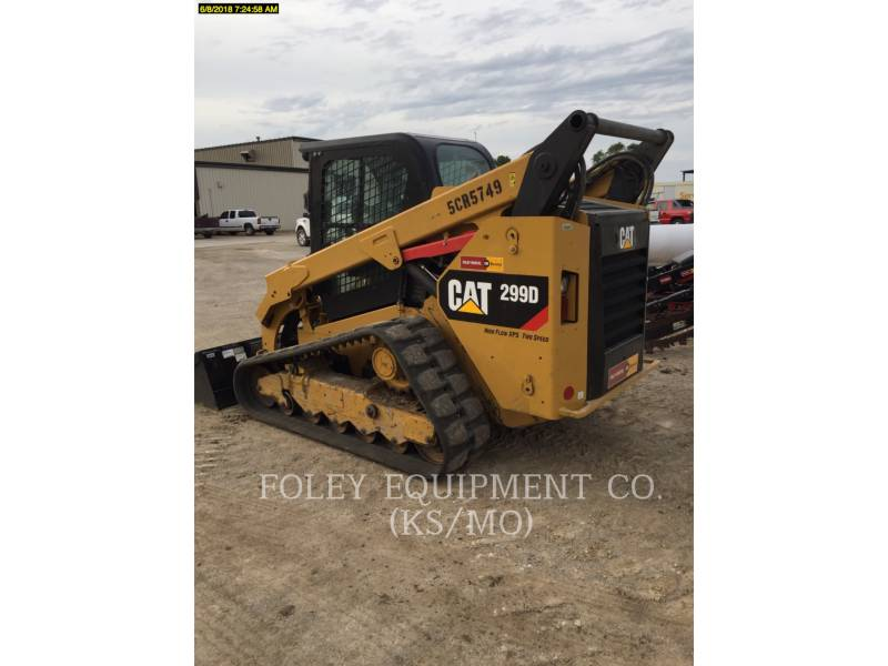 CATERPILLAR MULTI TERRAIN LOADERS 299DXPS2CA equipment  photo 4